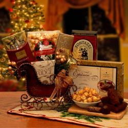 Sweet Temptations Holiday Sleigh Gift