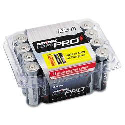 Rayovac Industrial Plus Alkaline AA Batteries (Case of 24)