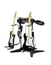Atlantic JamStand 2 With 1 Guitar Stand and 1 Microphone Clip For Rock Band and Guitar Hero 45506110