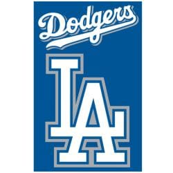 Los Angeles Dodgers Nylon Banner Flag 7631459
