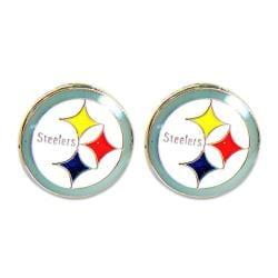 Pittsburgh Steelers Post Stud Logo Earring Set 7683485