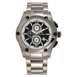 Lucien Piccard Men's ChronoTask Stainless Steel Watch