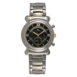 Lucien Piccard Men's Stainless Steel Chronograph Watch