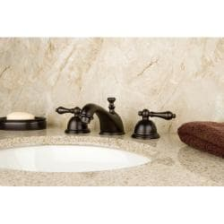 Restoration Oil Rubbed Bronze Widespread Faucet