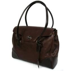 Kenneth Cole Reaction 'It's in The Bag' Cowhide Leather Laptop Case