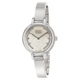 ESQ Women's Swis Contempo Diamond Accent Movado Watch