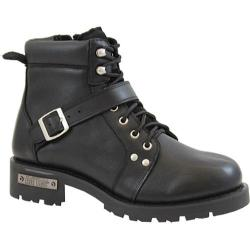 Men's AdTec 9143 YKK Zipper Boot 6in Black