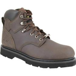 Men's AdTec 9328 Work Boots 6in Steel Toe Dark Brown