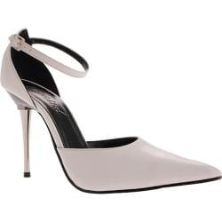Women's Highest Heel Slick White PU