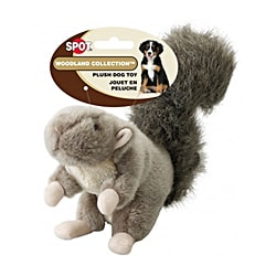 10-inch Woodland Collection Squirrel Chew Toy