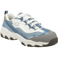 Women's Skechers D'Lites S R Service Light Blue/White
