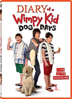 Diary of a Wimpy Kid: Dog Days (DVD) 10040947