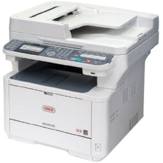 Oki MB491+ LED Multifunction Printer - Monochrome - Plain Paper Print