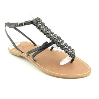 Enzo Angiolini Women's 'Foxie' Leather Sandals (Size 8)