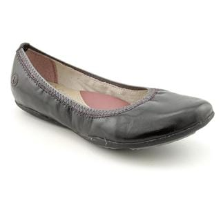 Hush Puppies Women's 'Kriya Skimmer' Leather Casual Shoes
