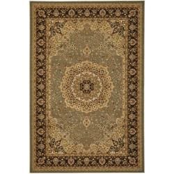Safavieh Majesty Extra Fine Sage/ Brown Rug (8' x 11')