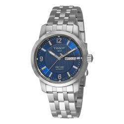 Tissot Men's 'T-Sport PRC 200' Blue Face Automatic Watch