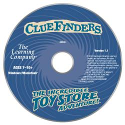 ClueFinders Incredible Toy Store Adventure€