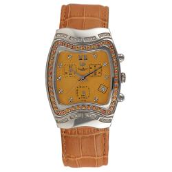 Lucien Piccard Unisex La Dauphine Collection Sapphire and Diamond Watch