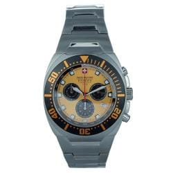 Swiss Military Men's Chronograph Casual Stainless Steel Watch