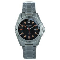 Swiss Military Men's Casual Stainless Steel Watch
