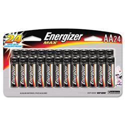 Energizer MAX Alkaline Batteries- AA- 24
