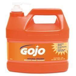 GOJO NATURAL ORANGE Smooth Hand Cleaner- 1 gal-