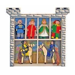 Melissa & Doug Castle Wooden Figure Set 7921807