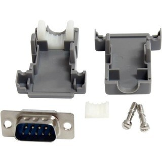 StarTech.com Assembled DB9 Male Solder D-SUB Connector with Plastic B