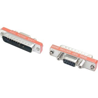 StarTech.com Slimline DB9 to DB25 Cable Adapter F/M