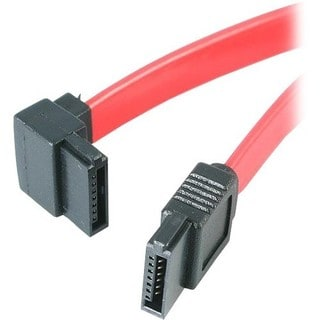 StarTech.com 24in SATA to Left Angle SATA Serial ATA Cable