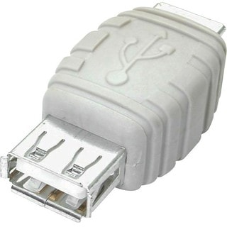 StarTech.com USB A to USB B Cable Adapter F/F
