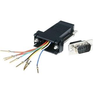 StarTech.com DB9 to RJ45 Modular Adapter - M/F