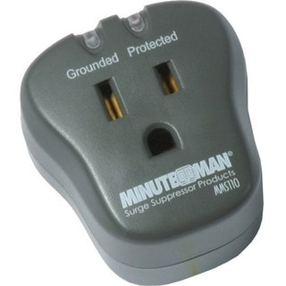 Minuteman MMS Series Single Outlet Surge Suppressor