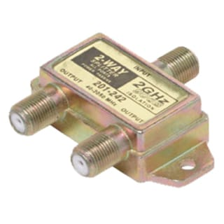 Steren 2-Way Satellite Splitter