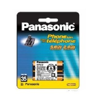 Panasonic Nickel Metal Hydride Cordless Phone Battery