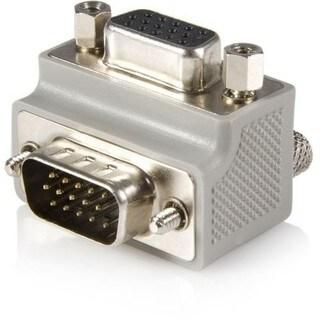 StarTech.com VGA adapter cable - Type 1 - right angle VGA (m) - VGA (