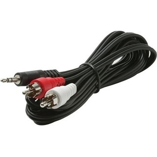 Steren 3.5mm to RCA Y-Cable