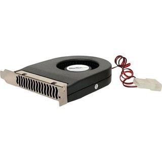 StarTech.com Expansion Slot Rear Exhaust Cooling Fan with LP4 Connect