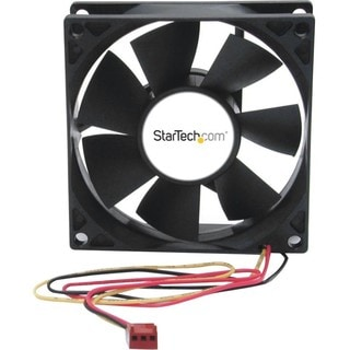 StarTech.com 80x25mm Dual Ball Bearing Computer Case Fan w/ TX3 Conne