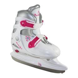 Girls' American 360 Party Girl Adjustable Hardshell White
