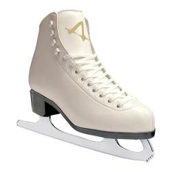 Women's American 523 Sumilon Lined Figure Skate White
