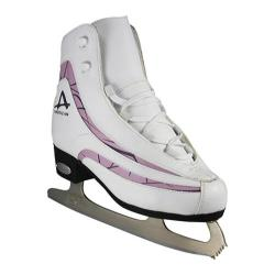 Women's American 537 Softboot Plum Trim White