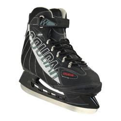 Children's American 558 Cougar Softboot Hockey Skate Grey/Black