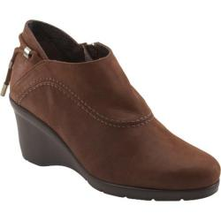 Women's Antia Shoes Carly Mocha Leather