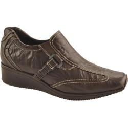 Women's Antia Shoes Gili Mocha Veg Crunch Full Grain Leather/Mocha Gore