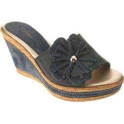 Women's Azura Narcisse Blue Leather