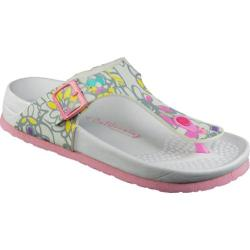 Women's California Footwear Co. Newport White/Pink Floral