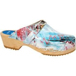 Cape Clogs City Scape Blue/Multi