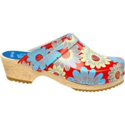 Cape Clogs Fantasy Red/Multi